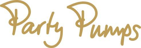 Party Pumps Logo Brautmoden mit Herz