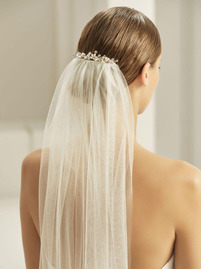 Schleier Braut-Accessoires Brautmoden mit Herz